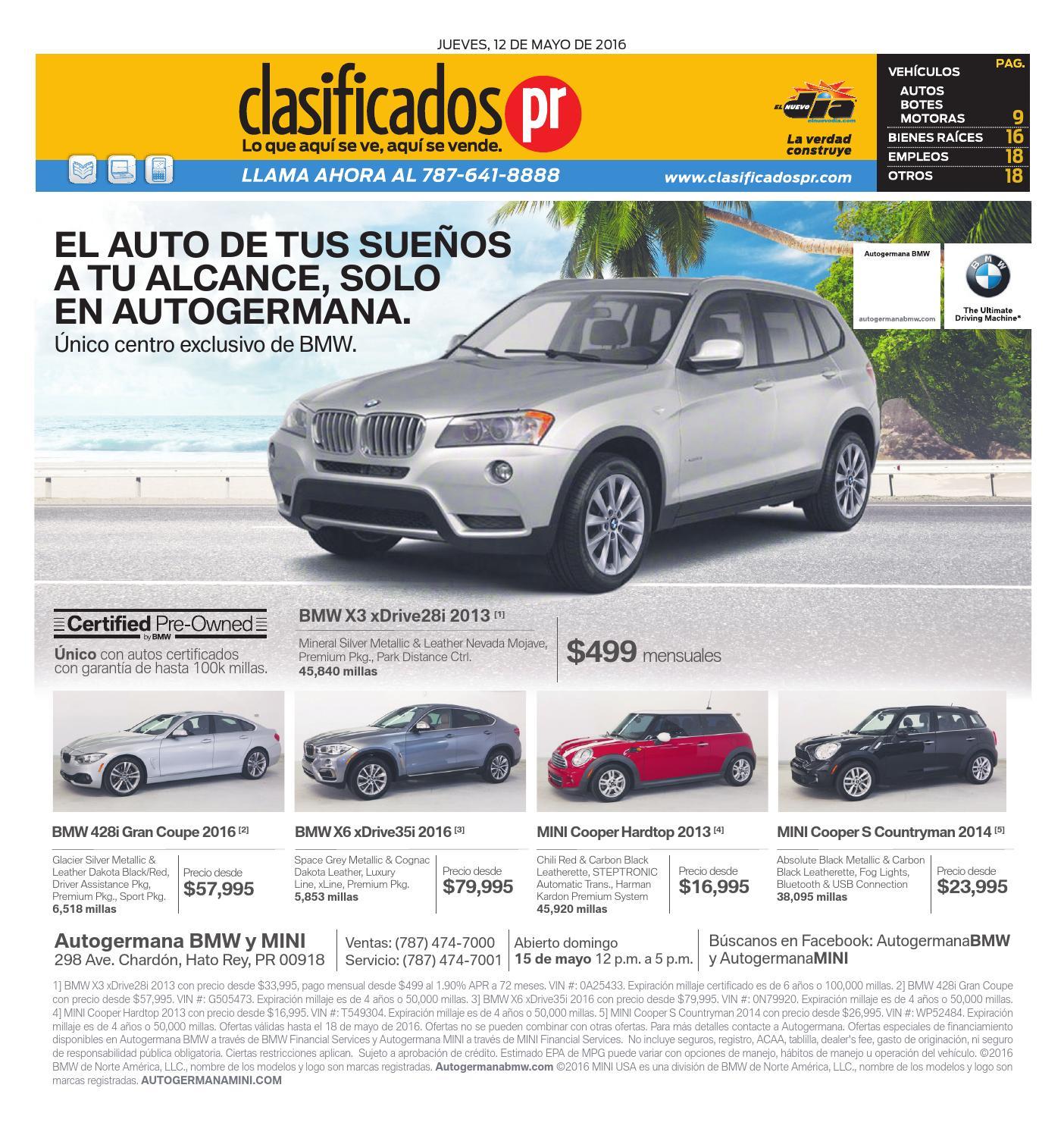 ClasificadosPR 05 12 2016 By ClasificadosPR.com