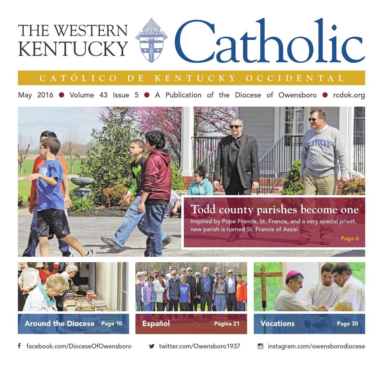 Adulterio Nacional Online the western kentucky catholic may 2016diocese of