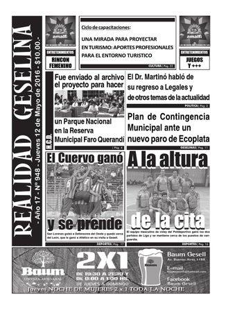 f32ce38ee Semanario Realidad Geselina 948 by Semanario Realidad Geselina - issuu