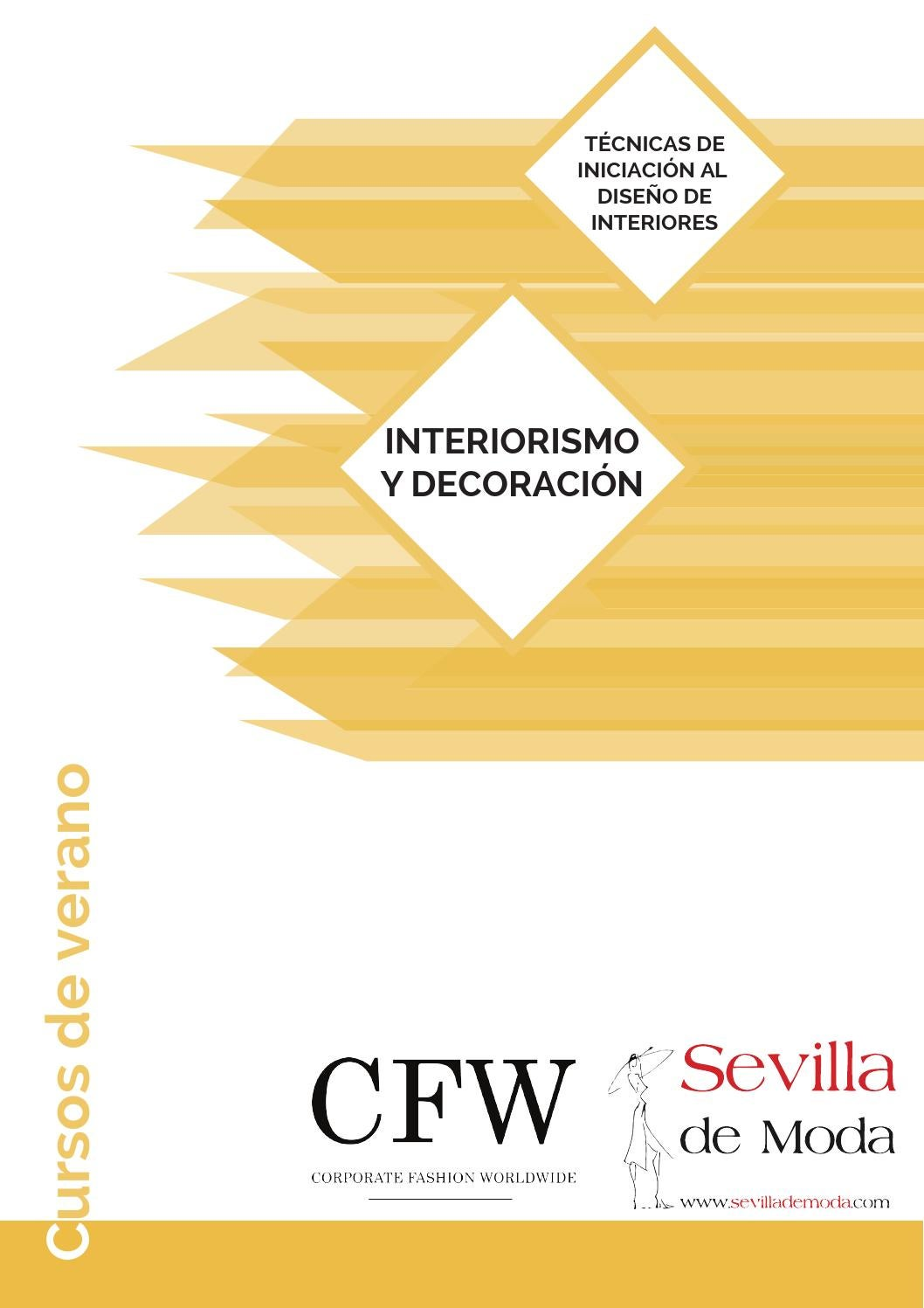 Campus de verano 2016 interiorismo y decoraci n escuela for Curso interiorismo
