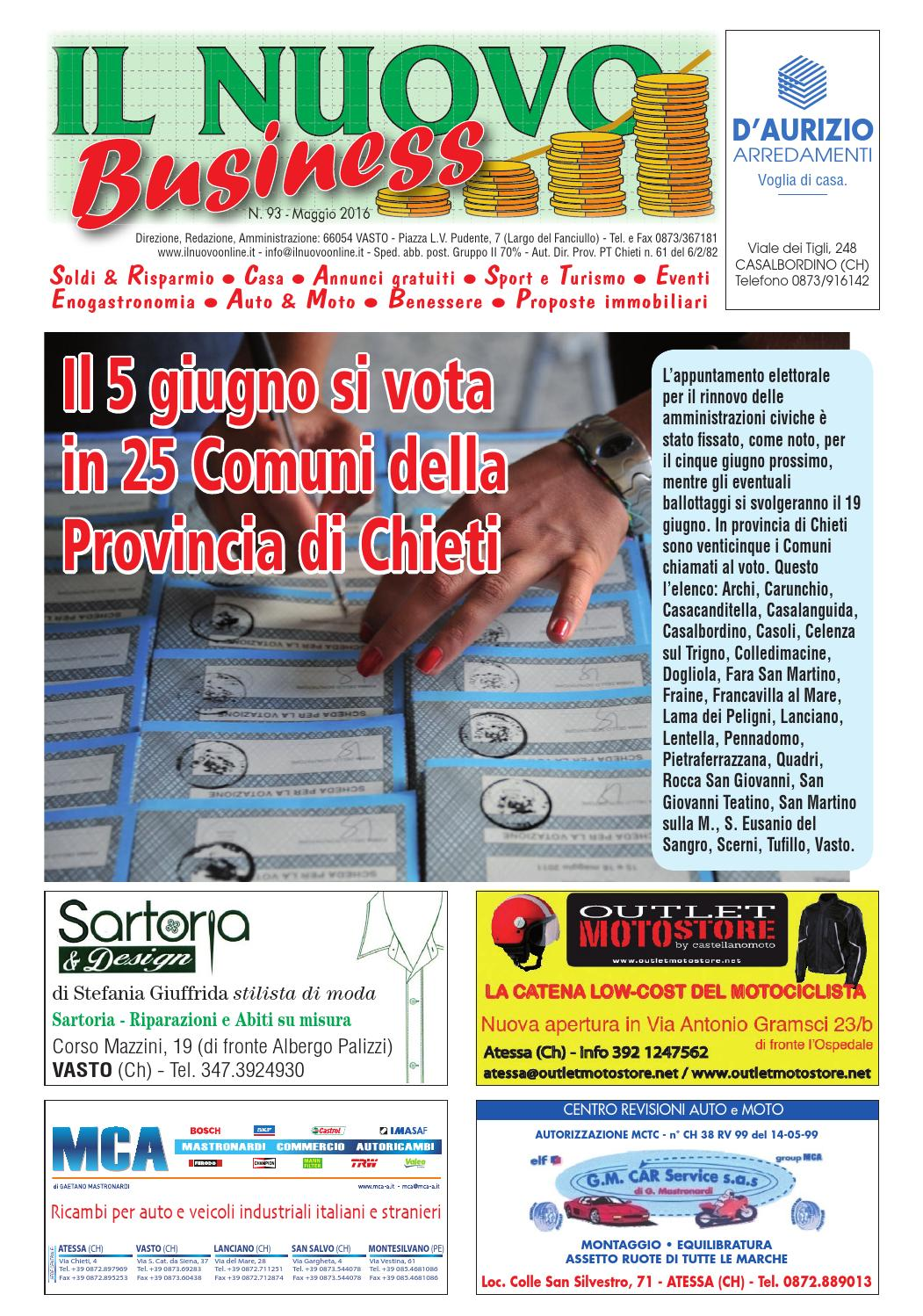 Business maggio 2016 by nicolangelo gualtieri issuu for Gualtieri arredamenti