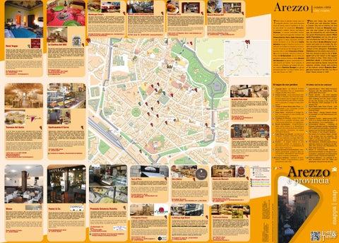 Cartina Geografica Di Arezzo.Mappa Turistica Di Arezzo E Provincia 2016 By Quadrata Creativita Comunicazione Turismo Issuu