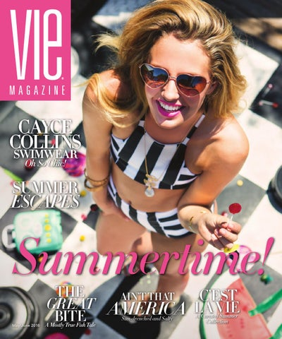 b7671557ac VIE Magazine May   June 2016 by  the idea boutique ® - issuu