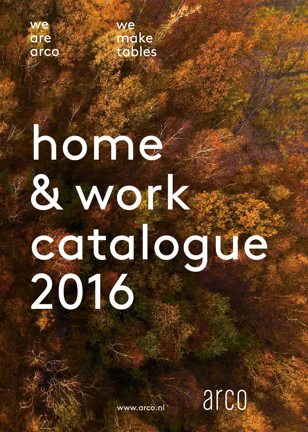 Arco Graphic Eetkamertafel.Arco Home And Work Catalogue 2016 By Museo Issuu
