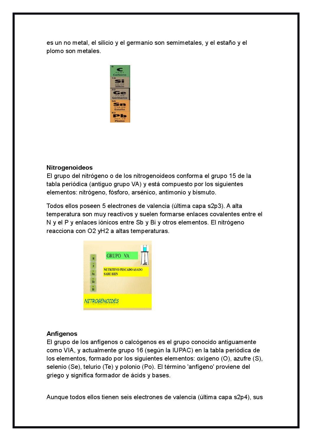 Propiedades y caracteristicas de cada grupo de la tabla periodica by propiedades y caracteristicas de cada grupo de la tabla periodica by amy ardiano issuu urtaz Image collections