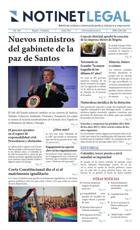Notinet Legal - Notinet Legal - Septiembre
