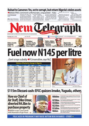 Thursday may 12 2016 binder1 by newtelegraphonline issuu page 1 fandeluxe Choice Image