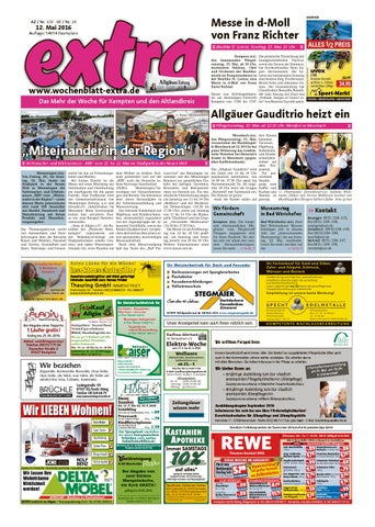 Extra Kempten Vom Donnerstag 12 Mai By Rtadesign Gmbh Issuu