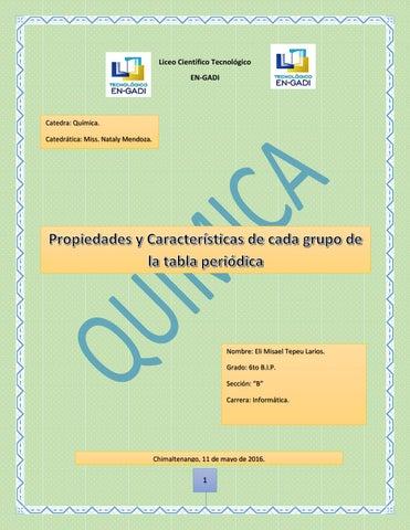Propiedades y caracteristicas de cada grupo de la tabla periodica caracteristicas de los grupos de la tabla periodica urtaz Gallery