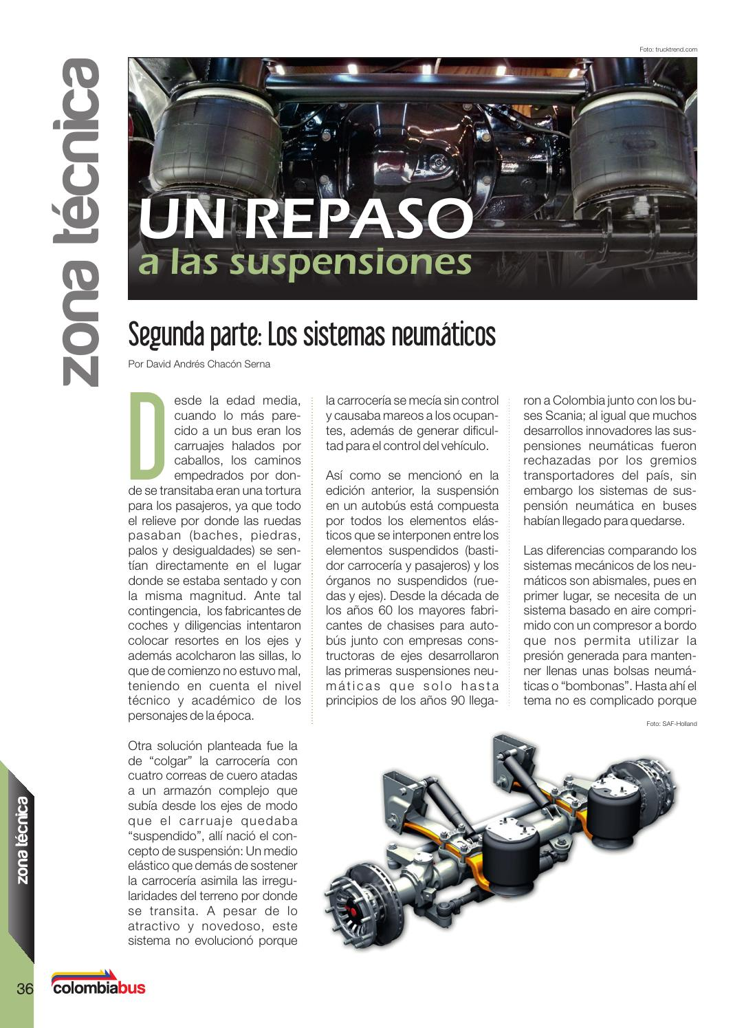 Revista Colombiabus abril 2016 - Ed.5 by Colombiabus - issuu