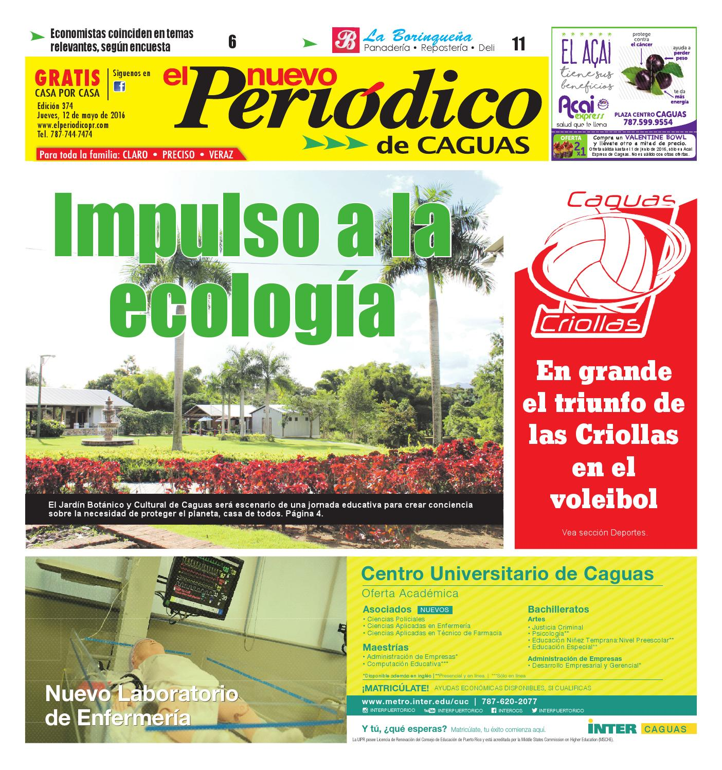 El Nuevo Peri Dico Edici N 374 By El Nuevo Periodico De Caguas  # Ahorro Muebles Caguas Direccion