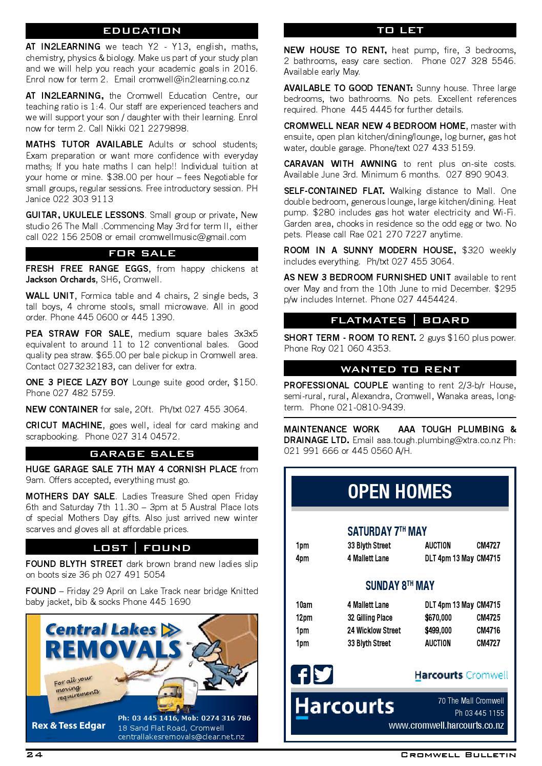 8d30e63246f48 Bulletin 1478 by Cromwell Bulletin - issuu