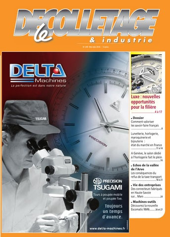 Et Décolletage By Industrie Issuu N°249 Le Messager UqxAff