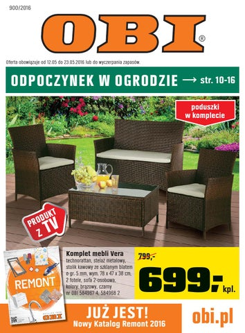 Obi Gazetka Od 1205 Do 23052016 By Iulotkapl Issuu