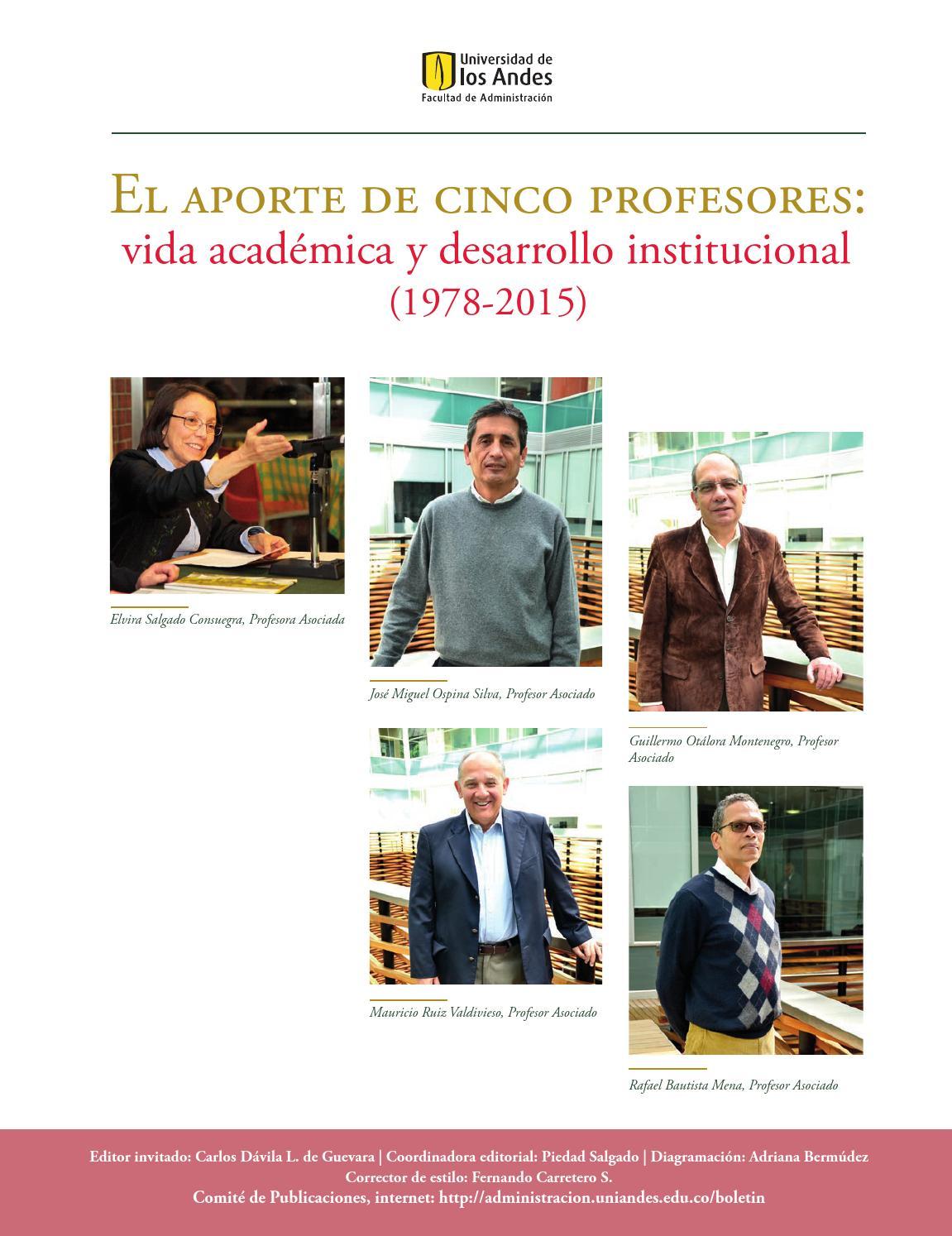 Boletin De Noticias Edicion Especial By Publicaciones Facultad De Administracion Uniandes Issuu