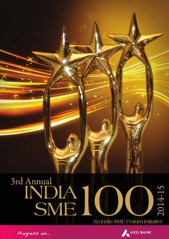India SME 100 Awards 2016 by India SME Forum - issuu