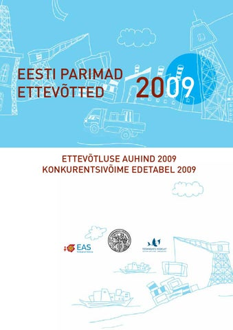 90e2df8bc18 Eesti parimad ettevotted 2009 by Eesti Kaubandus-Tööstuskoda ...