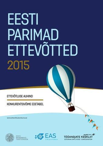 5d5909af449 Eesti Parimad Ettevõtted 2015 by Eesti Kaubandus-Tööstuskoda ...