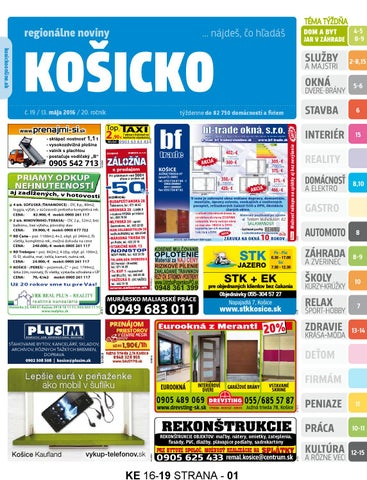 9fa62c24b Ke1619 by REGIONPRESS - Kosicko - issuu