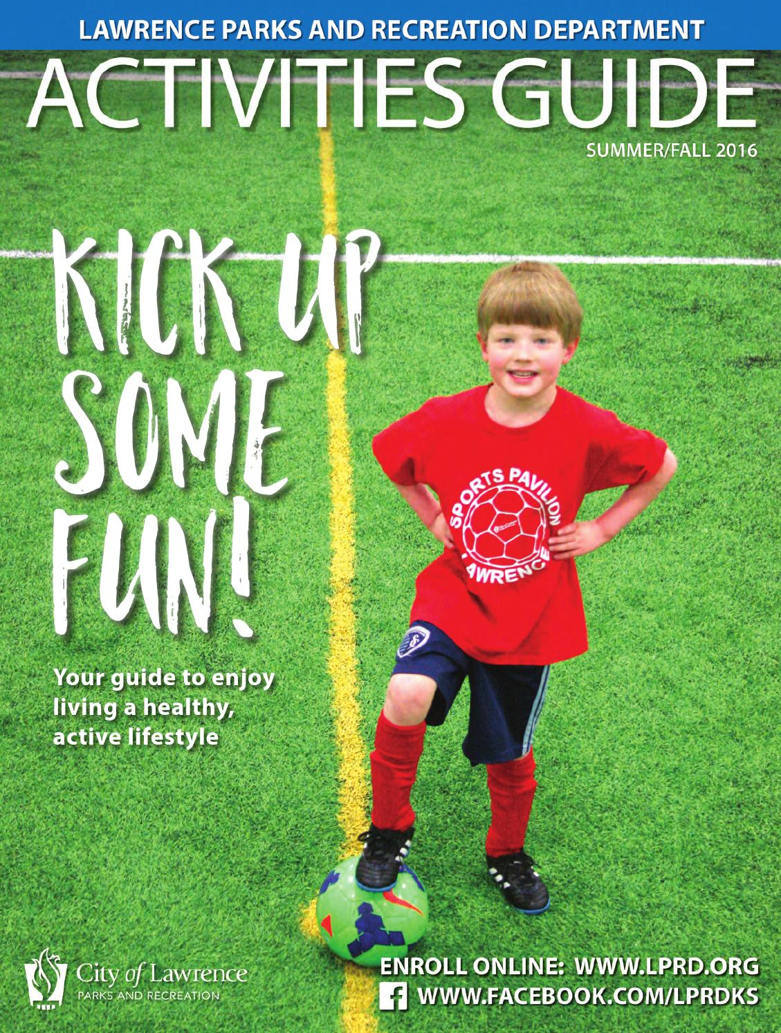 2016 Lawrence (KS) Parks and Recreation Department Summer