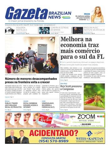 c5e2175a58 Edição 987 - De 12 a 18 de maio de 2016. by Gazeta Brazilian News ...