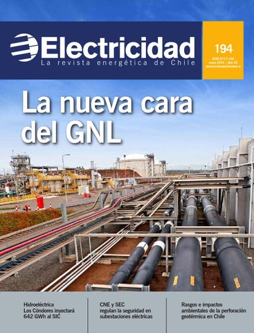 c6e084d14c7c6 194 ISSN 0717-164 mayo 2016   Año 25 www.revistaelectricidad.cl