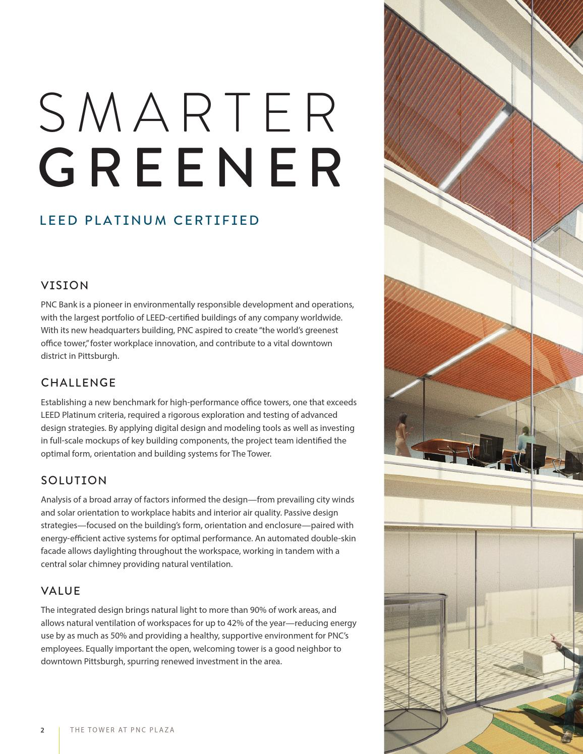 BuroHappold Engineering The Tower at PNC Plaza case study by