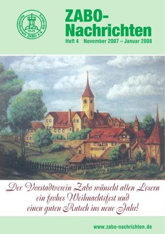 ZABO-Nachrichten 2007: Heft 4 by Vorstadtverein Zabo e.V. - issuu