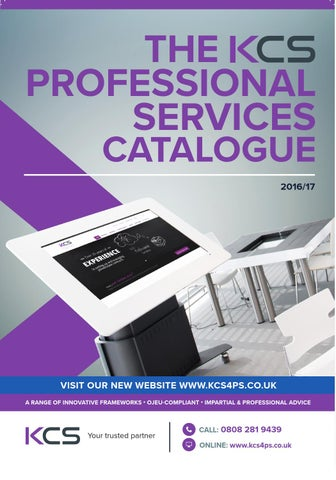 KCS Professional Services 2016/17 by Kent County Supplies - issuu