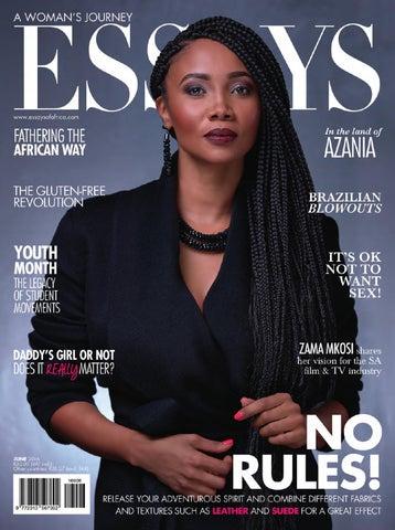 Essays Of Africa June 2016 by Kwenta Media - issuu