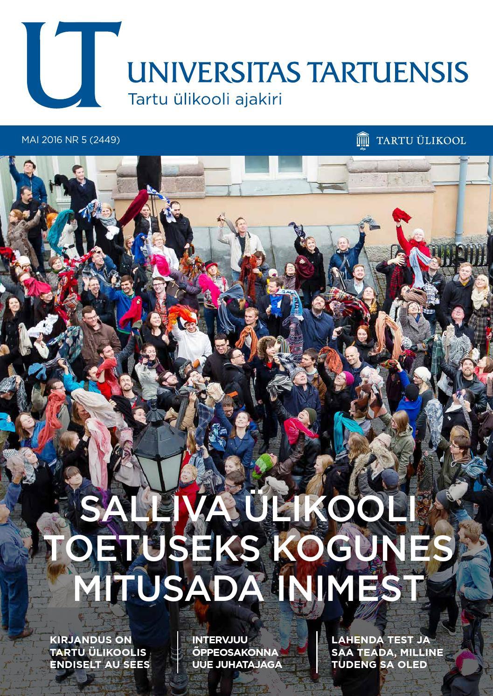 d9b9eaf25e3 UT mai 2016, nr 5 by Universitas Tartuensis - issuu