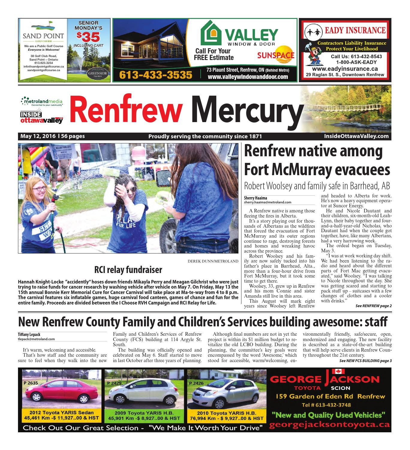 Renfrew051216 By Metroland East Renfrew Mercury Issuu How To Turn Your Truck Into A Generator The Family Handyman