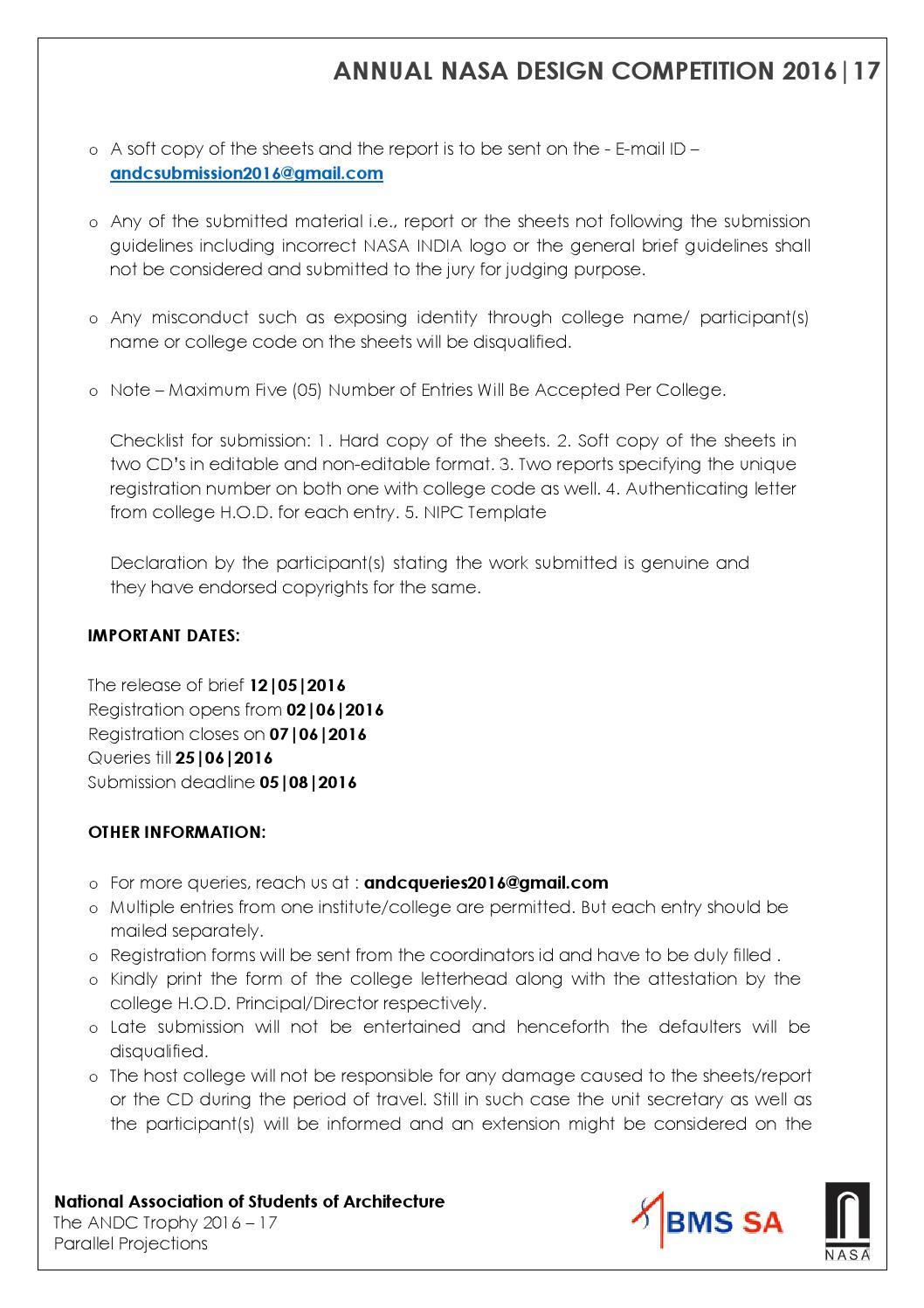 59th year andc brief by nasa india issuu