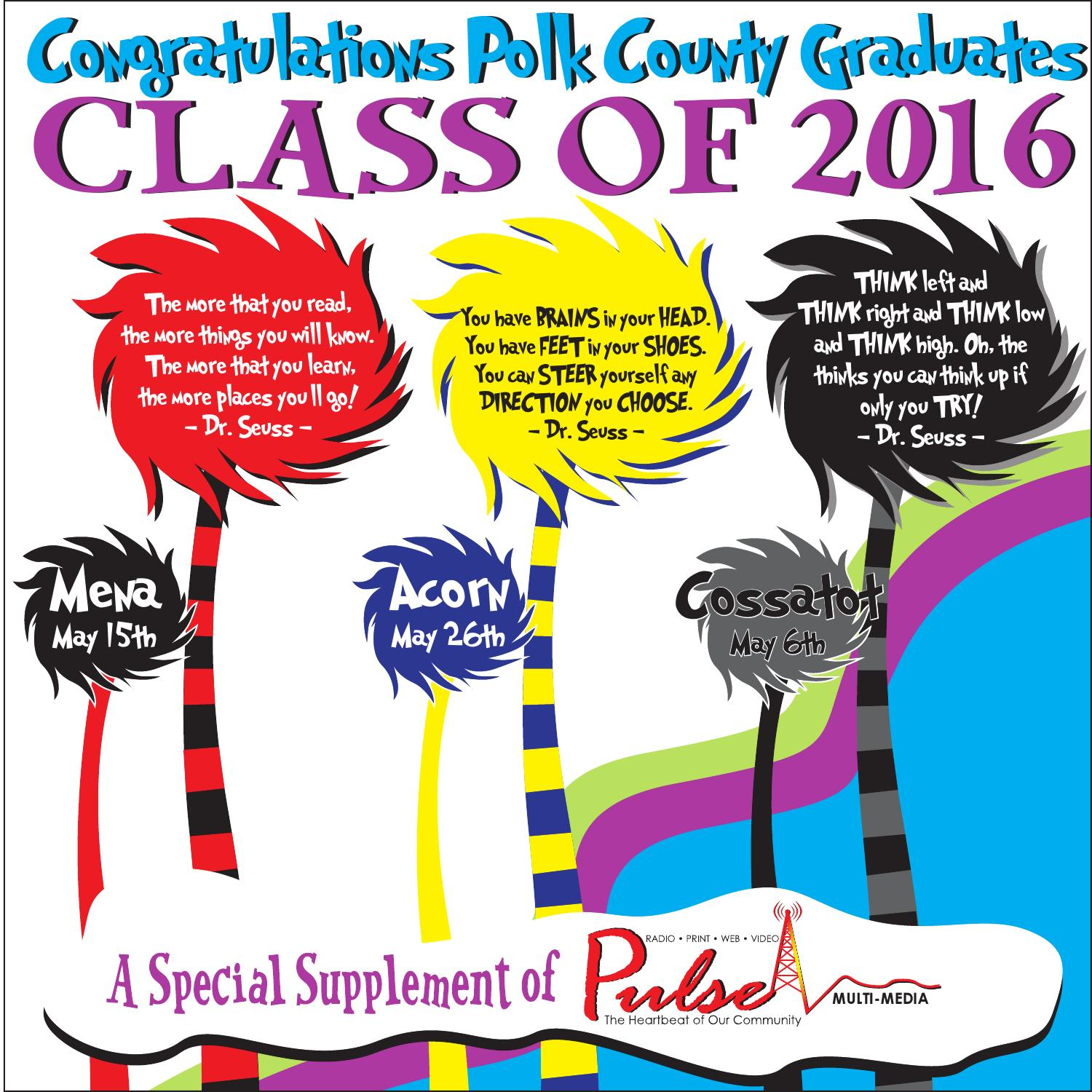 Graduation 2016 by The Pulse - issuu