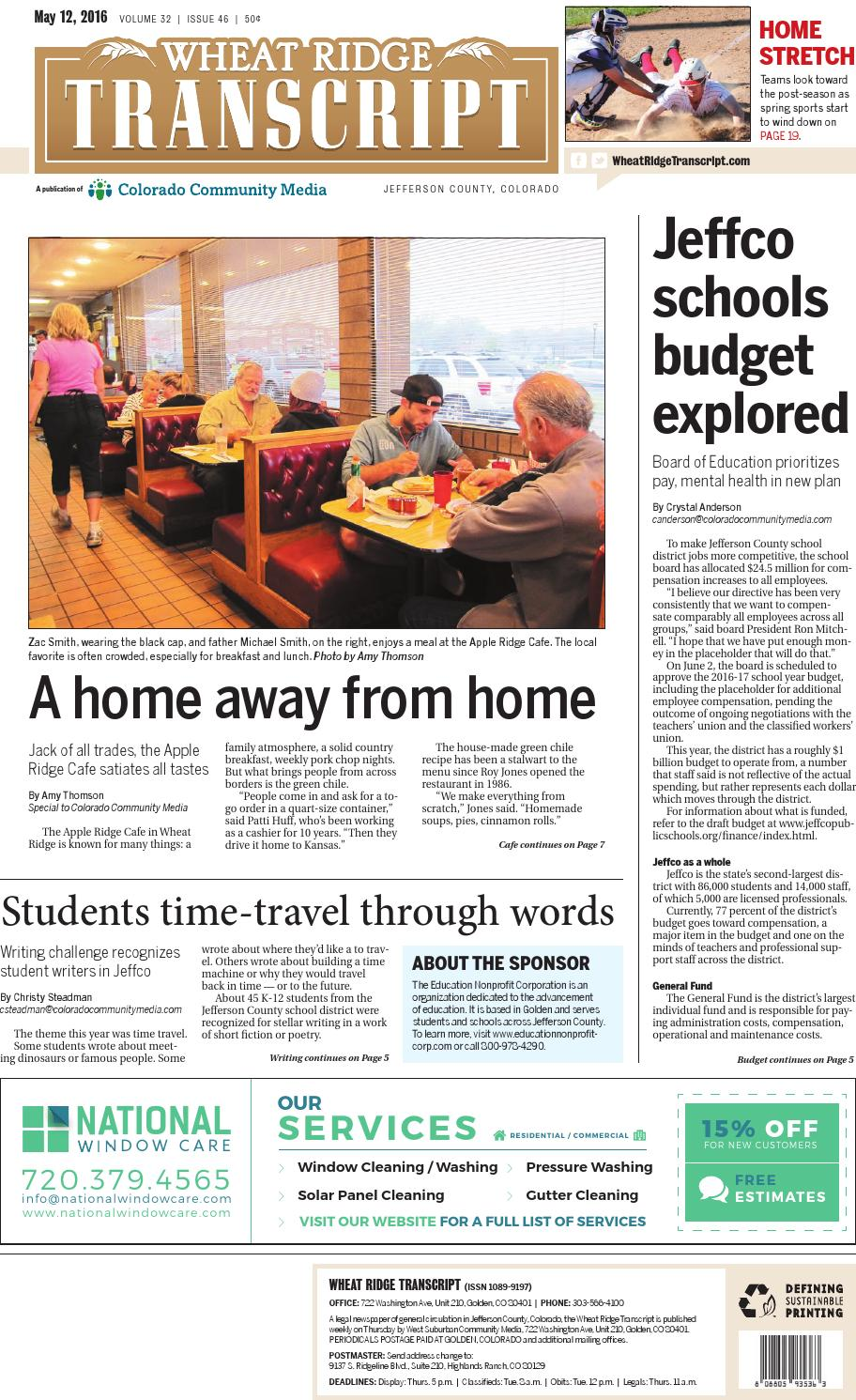 Wheat Ridge Transcript 0512 by Colorado Community Media - issuu
