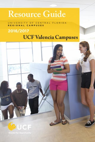20162017 Student Resource Guide For Ucf Valencia Campuses By Ucf