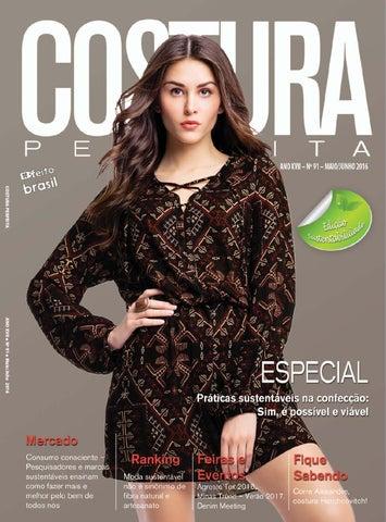 Revista Costura Perfeita Edição Ano XVII - N91 - Maio - Junho 2016 ... 9d7e01e781662