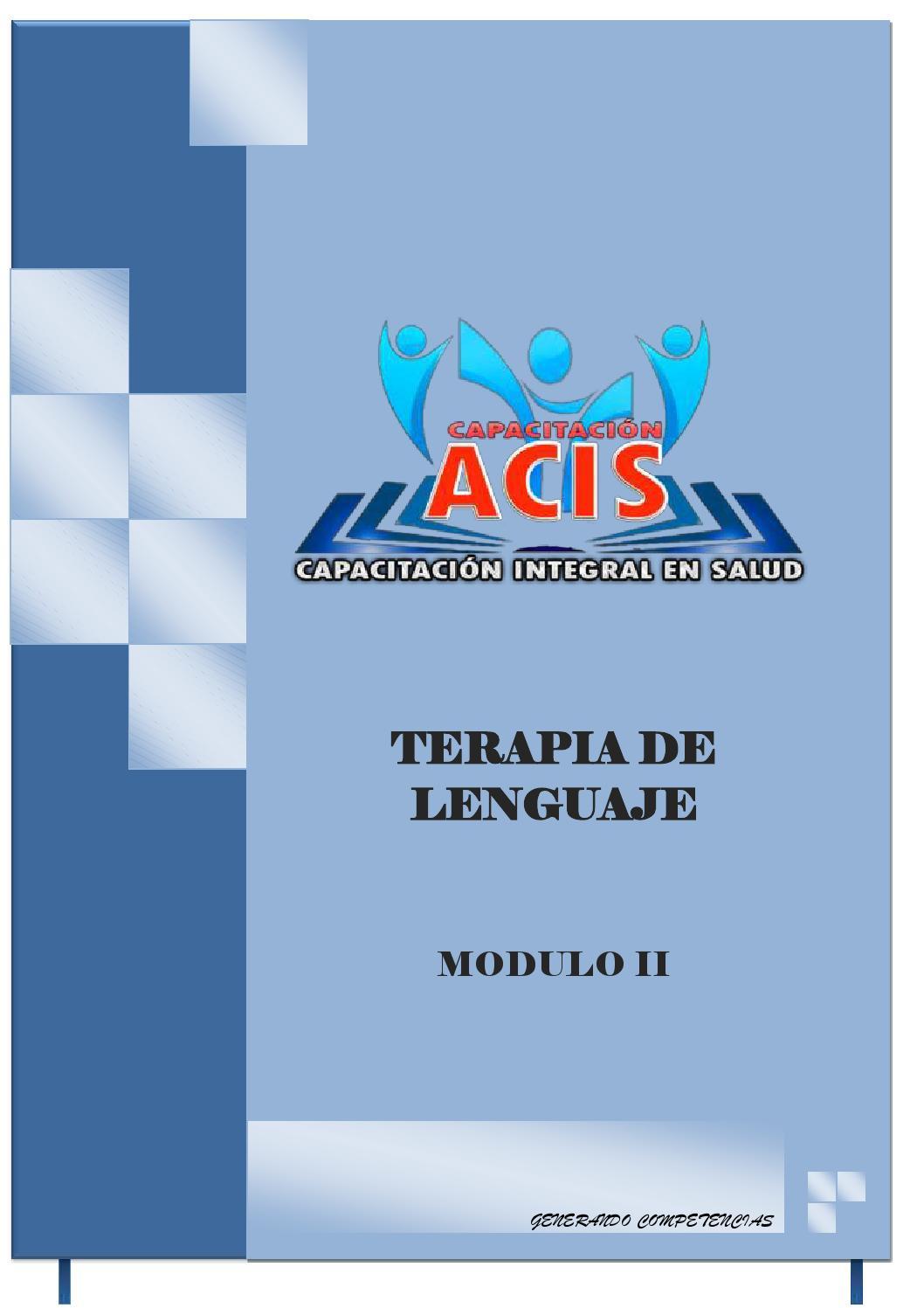 Mod ii terapia de lenguaje complerto by lavcanleo - issuu