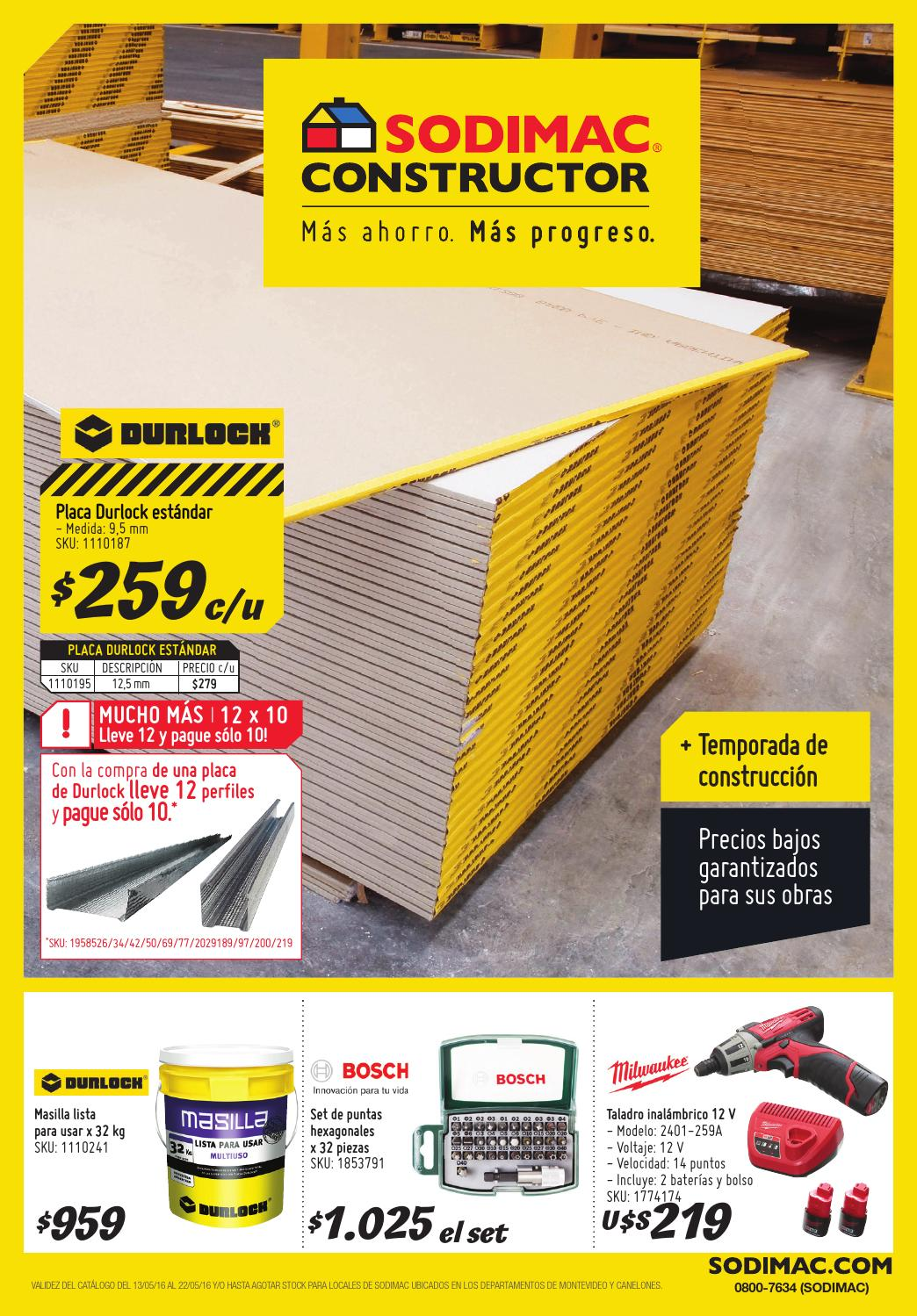 Catalogo Sodimac Constructor Mayo 2016 Uy By Sodimac Issuu