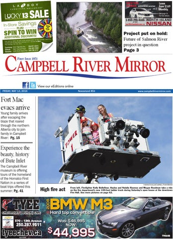Campbell River Mirror May 13 2016 by Black Press issuu