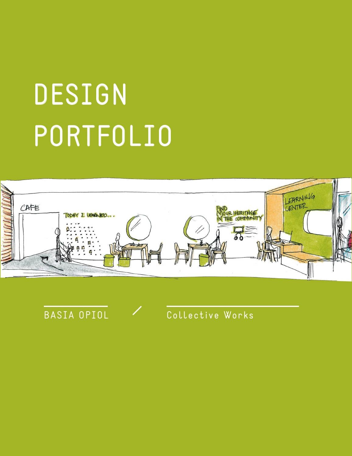 Design Portfolio By Basiaopiol