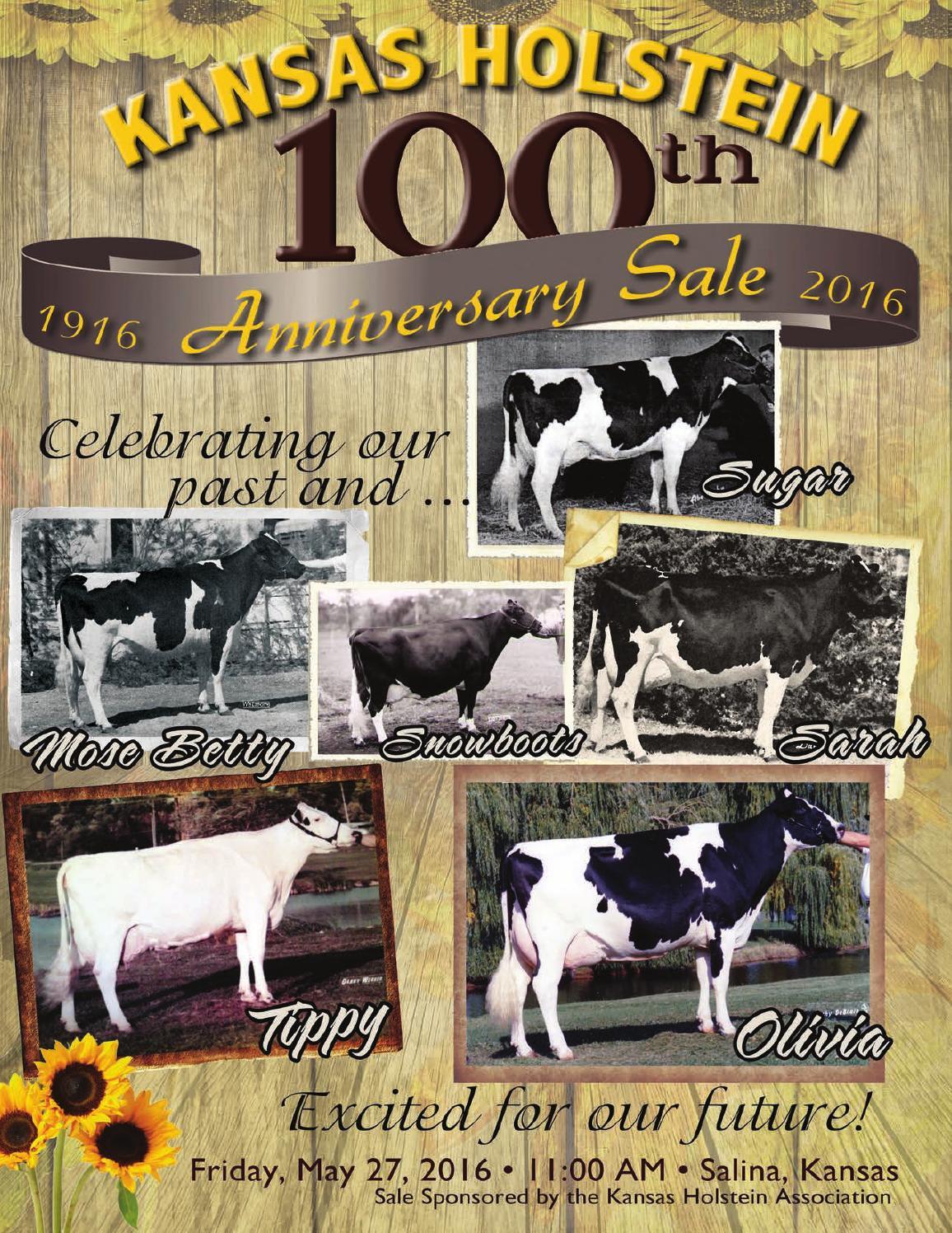 Kansas Holstein 100th Anniversary Sale by Cowsmopolitan Dairy Magazine -  issuu