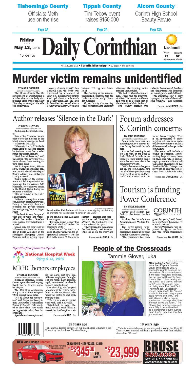 72b5d14ca17fa0 051316 daily corinthian e edition by Daily Corinthian - issuu