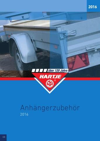 HARTJE Anhängerzubehör 2016 by Hermann Hartje KG - issuu