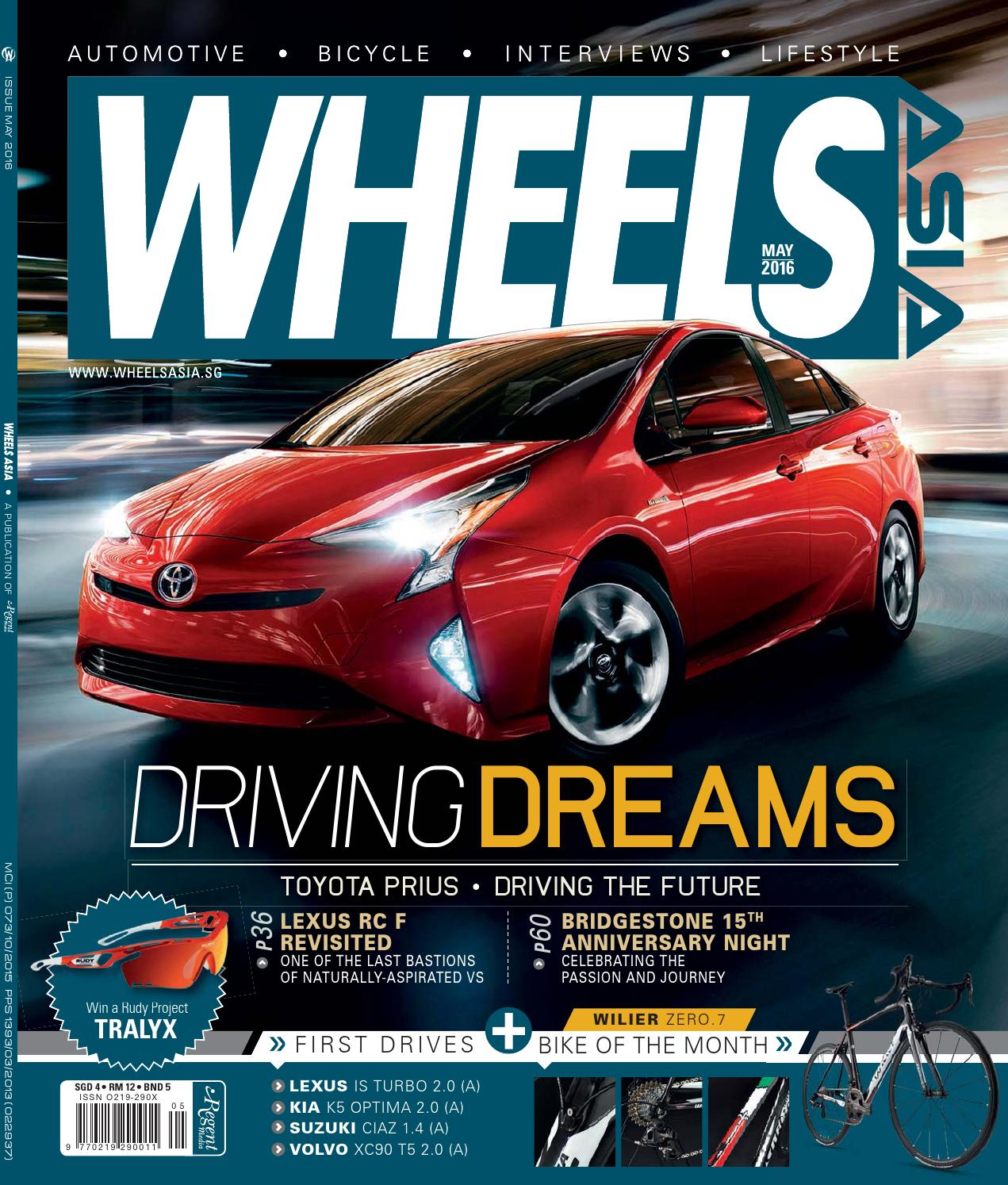 Wheels Asia May 2016 by Regent Media Pte Ltd - issuu