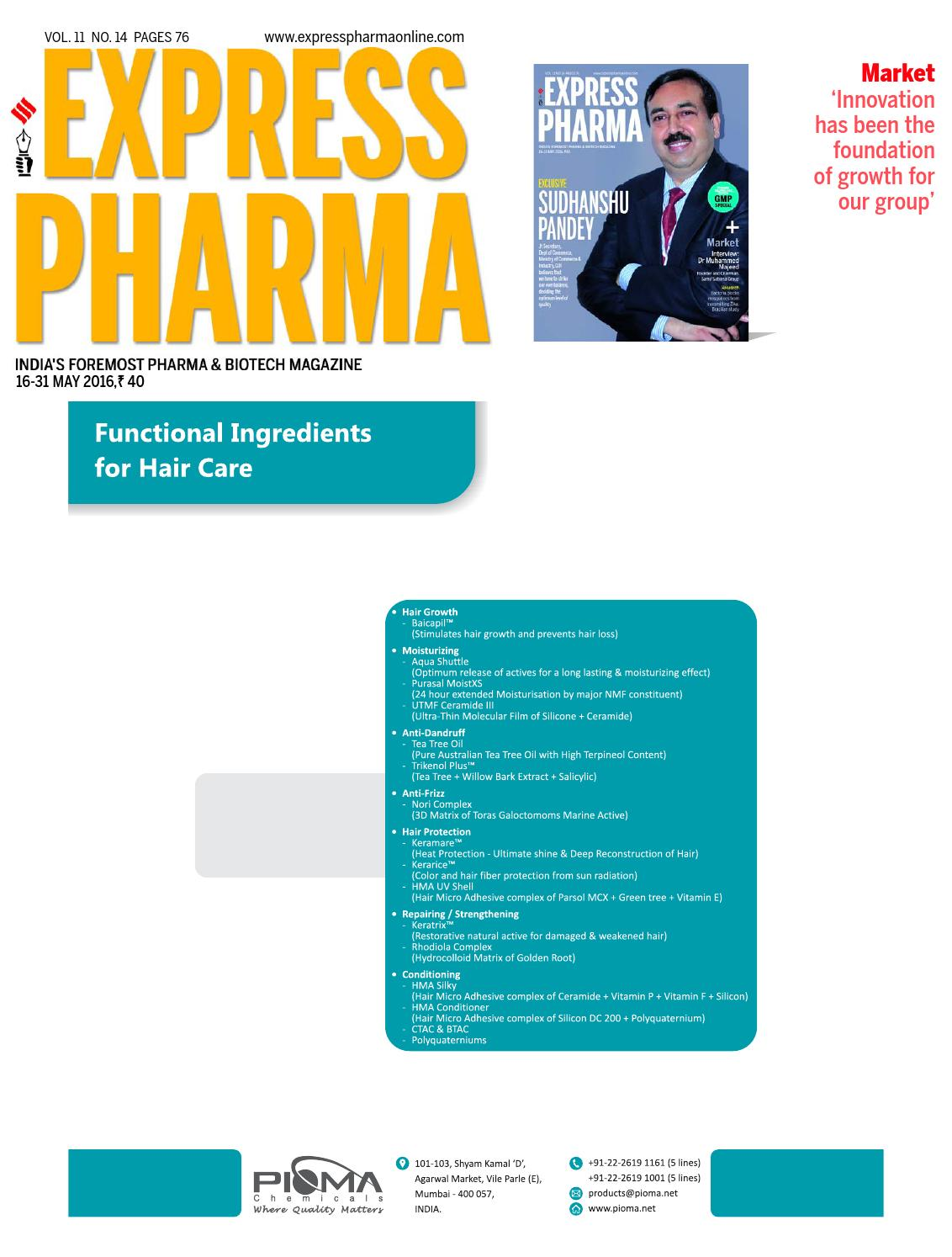 Express Pharma November 16-30, 2012 Part - 1 by Indian Express - issuu