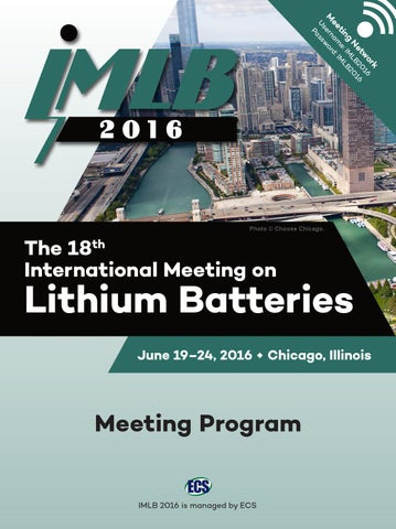 2016 IMLB Meeting Program by The Electrochemical Society - issuu 72bb9d9daf41