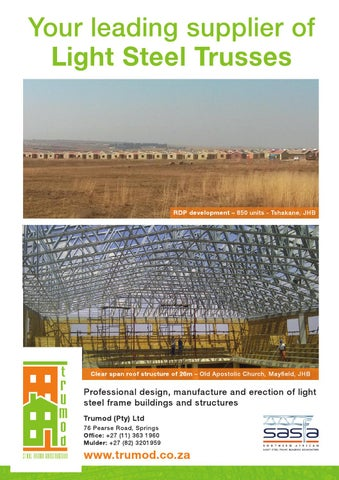 Sa Affordable Housing May June 2016 Issue 58 By