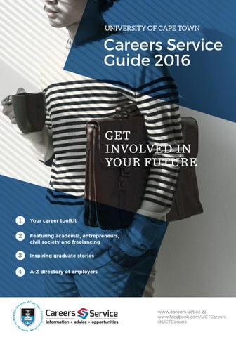 UCT Careers Service Guide 2016 by UCT Careers - issuu