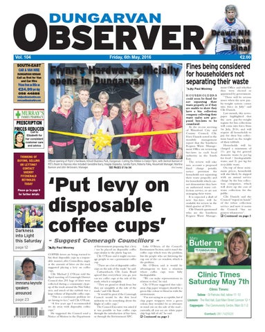 44348e6151d Dungarvan observer 6 5 2016 edition by Dungarvan Observer - issuu